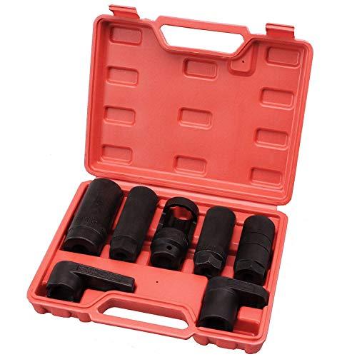 HFS (R Automotive Oxygen Sensor Socket Set 7PC Socket Set