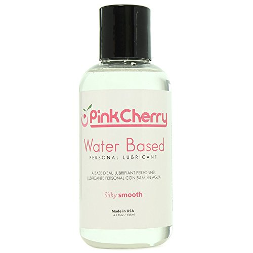 PinkCherry Water Based Personal Lube in 4.5 Ounces - Unscented Unflavored Lubricant