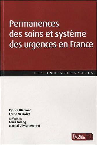 permanences des soins et système des urgences médicales en France