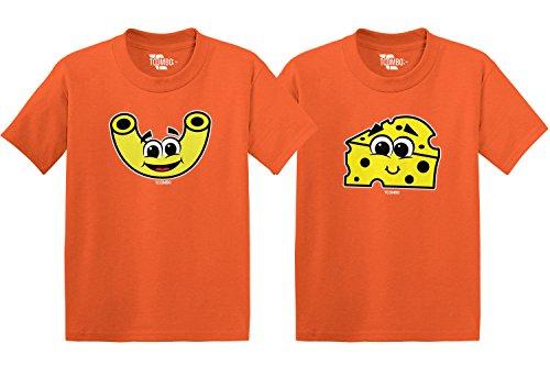 Mac N' Cheese Toddler/Infant T-Shirt 2 Pack (Orange/Orange, 5T/4T)