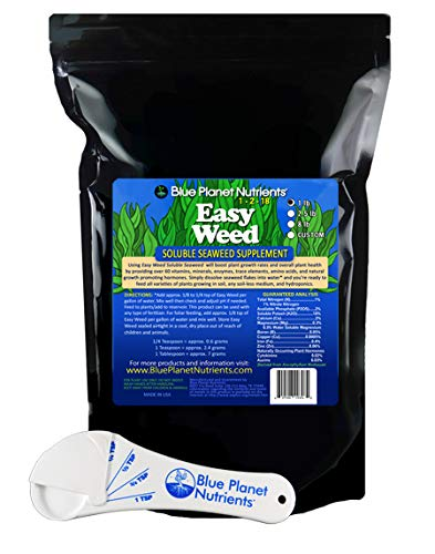 Amazon.com: Blue Planet Nutrients Easy Weed algas solubles ...