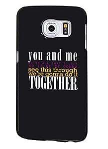 Fashionable Movie Logo Painted Supernatural Quotes Samsung Galaxy S6 Edge Plus Carcasa Visual Hard Skin Cover Para Teen Girls