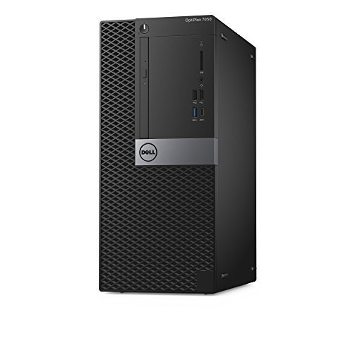 Dell OptiPlex 7050 Tower Desktop Computer, Intel Core i7-7700, 8GB DDR4, 1TB Hard Drive, Windows 10 Pro (TMXP3) by Dell