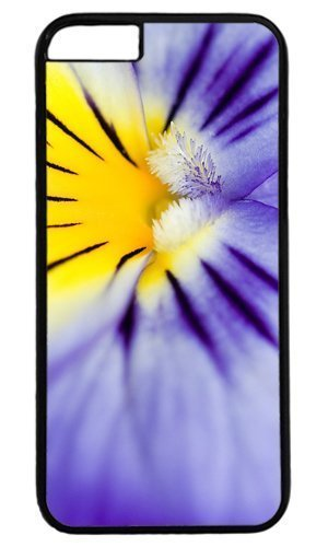 Beautiful Purple Flower Retina Case for iPhone 6 Plus PC Black by Cases & Mouse Pads by icecream design 220mm*180mm*3mm