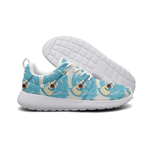 Casual Art Lightweight Sneaker For drink Shoes Blue Guitar lemon Running Opr7 Outdoor Women zqxIvBI