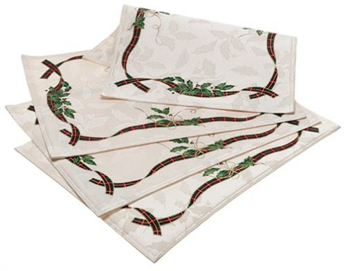 Lenox Holiday Nouveau Placemats, Set of 4