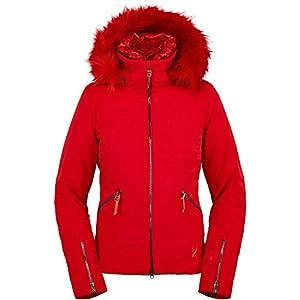 Spyder Dolce Women's Ski Gore-Tex Primaloft Jacket red