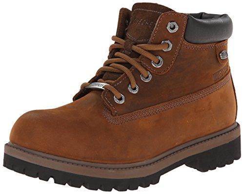 Skechers Women's Rager Engineer Boot - Dark Brown - 10 B(...