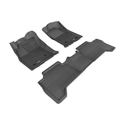 3D MAXpider Kagu Black 1st//2nd Row Floor Liners for 06-11 BMW 3-Series Sedan