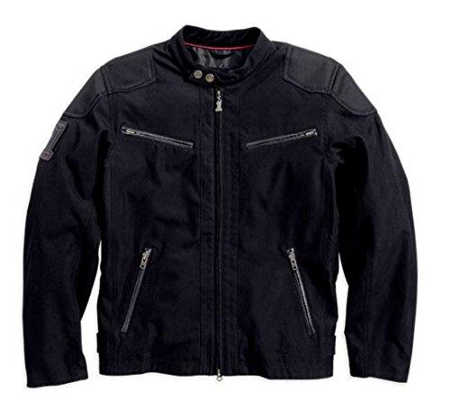 Harley-Davidson Men's Raven Textile Riding Jacket 98553-14VM by Harley-Davidson