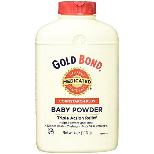 - Gold Bond Cornstarch Plus Baby Powder 4 oz (Pack of 8)
