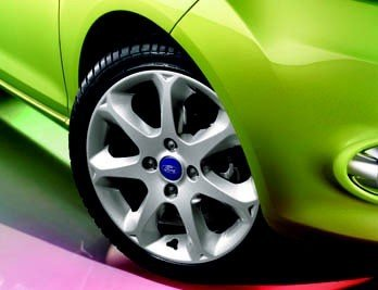 Genuine Ford Fiesta rueda de aleación de dirección Rack limitador para 17 ...
