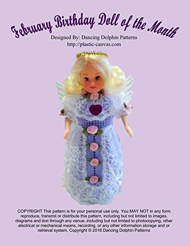 February Birthday Doll of the Month: Plastic Canvas Pattern