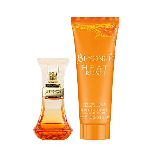 Beyonce Heat Rush Eau De Parfum & Body Lotion Eau De Parfum Body Lotion