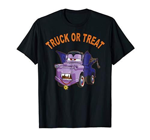 Disney Pixar Cars 2 Mater Vampire Halloween Graphic T-Shirt (Disney Cars Womens)