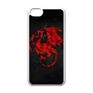 Targaryen Artwork iPhone 5c Cell Phone Case White Protect your phone BVS_555047