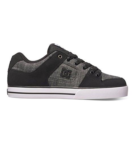 DC Men's Pure Tx Se Skateboarding Shoe, Black,