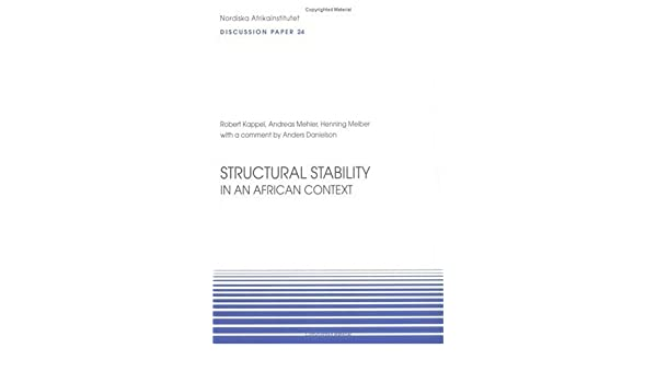 Structural Stability in an African Context: Discussion Paper