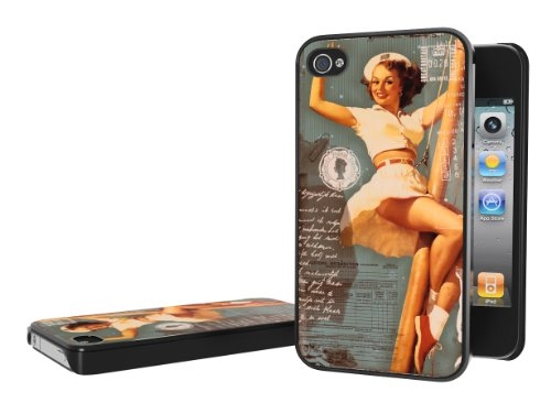 iPhone 4 4s Case Sexy Pin-Up Girl Pole dancing iPhone 4 4s