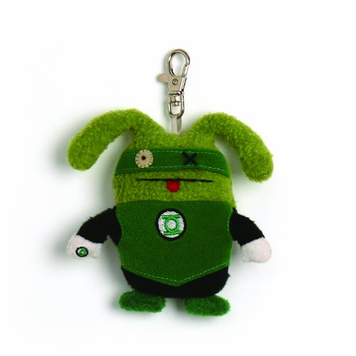 Gund Uglydoll Ox Green Lantern Backpack Clip ()