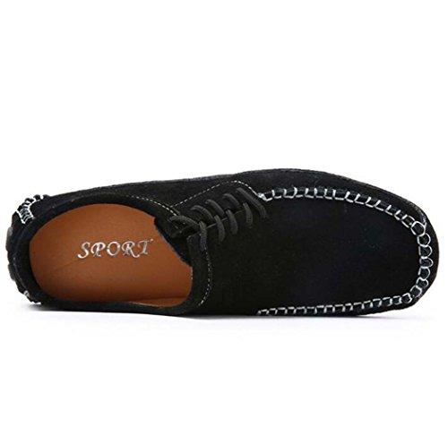 Shoes Per Guida GSHE Black Da Morbidi Uomo Mocassini dnqqx6