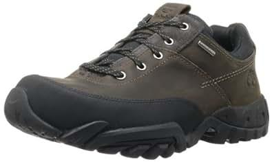 Timberland Men's Rolston Low WP Waterproof Boot,Dark Brown,8 M US