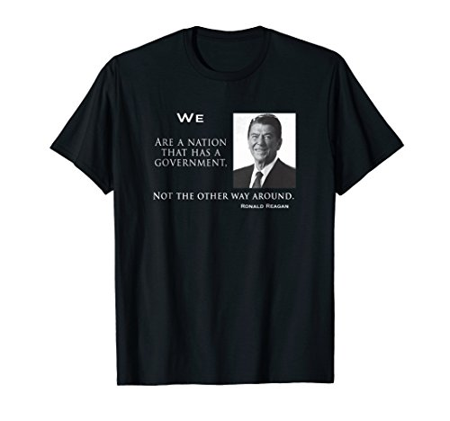 Ronald Reagan Inaugural Address quote T-Shirt gift patriot (Ronald Reagan Best Speech)