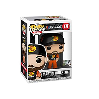 Pop Sports Nascar Martin Truex JR #10 Action Figure (Bundled with EcoTEK Pop Box Protector to Protect Display Box): Toys & Games