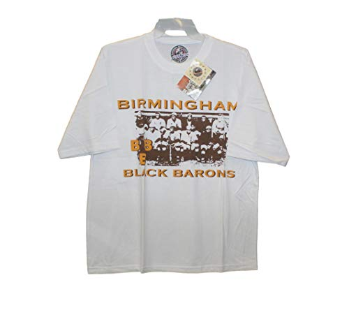 be7991f16967 Birmingham Black Barons - Vintage Team Photo Screenprinted on White Shirt