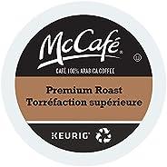McCafe Premium Roast Medium Dark Single Serve Keurig Certified Recyclable K-Cup pods for Keurig Brewers, 48 Co