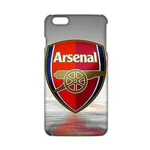 escudo del arsenal sin fondo 3D Phone Case Cover For Apple Iphone 6 4.7 Inch