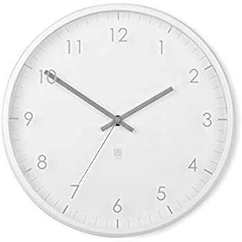 Amazon.com: Umbra Pace Wall Clock, White: Home & Kitchen