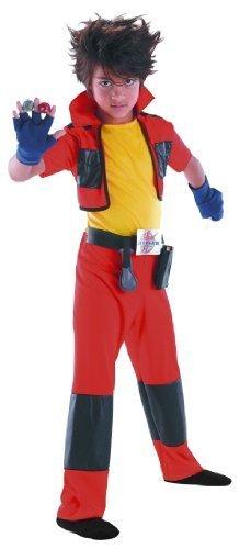 Bakugan Dan Child Costume - Small (Dan Costume Classic)