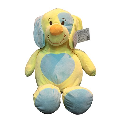 Starwalk Plush Dog, Yellow/Blue (46cm)