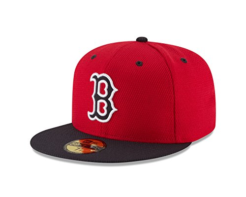 MLB Boston Red Sox Men's Diamond Era 59FIFTY Cap, 7.875, Red