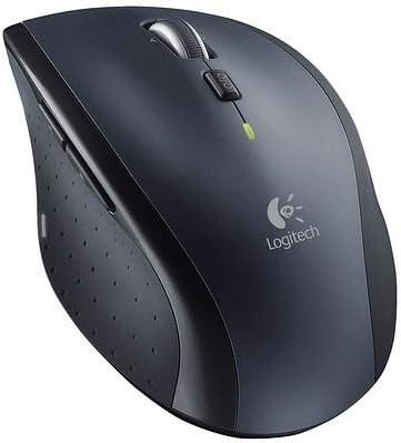 f/ür Notebook//Computer mit 3/Jahren Batterielebensdauer kabellose Maus einfarbig Logitech Marathon M705