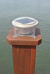 Solarrific® L2049 Solar Piling Lights for Marinas