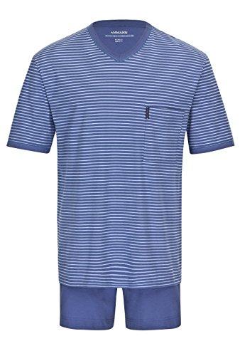 in Pigiama polo uomo chiaro pigiama cotone extra Ammann di blu wFxOrqYF