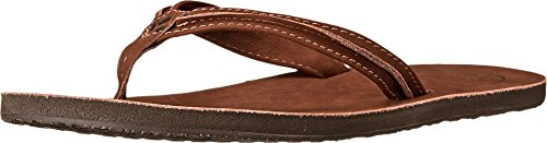 Reef Women's Swing 2 Sandal,Tobacco,8 M US (Sandals Leather Brown)