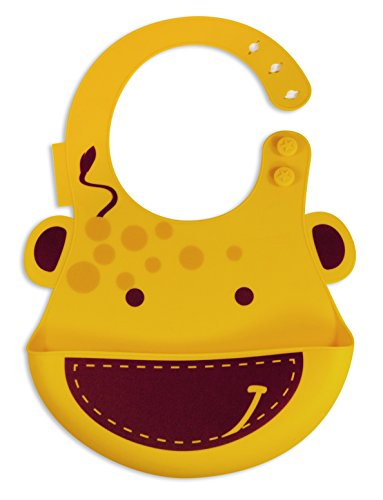Marcus   Marcus Lola The Giraffe Baby Bib   Yellow