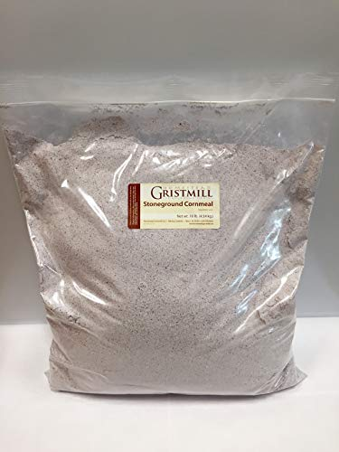 Homestead Gristmill — Non-GMO, Chemical-Free, All-Natural, Stone-ground Blue Cornmeal (10 lbs)