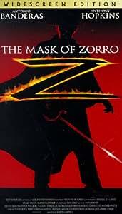 Amazon.com: The Mask of Zorro (Widescreen Edition) [VHS ...