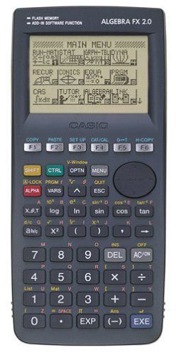 Casio Algebra FX 2 0 Graphing Calculator