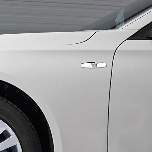Chrome Black 300 C Hemi Rear Trunk Boot Lid Hatch Tailgate Side Emblem Badge Decal for Chrysler zorratin