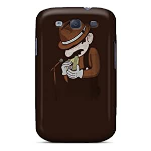 Snap-on Case Designed For Galaxy S3- Blowing In The Cartridge
