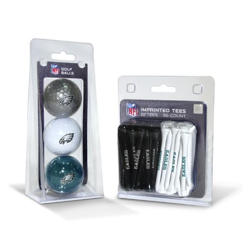 Philadelphia Eagles Display (NFL Philadelphia Eagles 3 Pack Golf Balls (50 Pack Team)