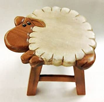 Amazing FOOTSTOOLS   U0026quot;COUNTING SHEEPu0026quot; WOODEN FOOTSTOOL   SHEEP ... Nice Look