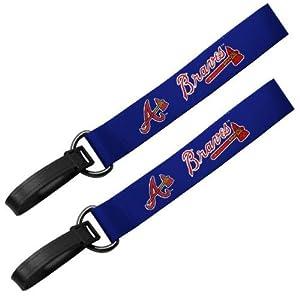 MLB Atlanta Braves Luggage ID Tag, Blue, 9″