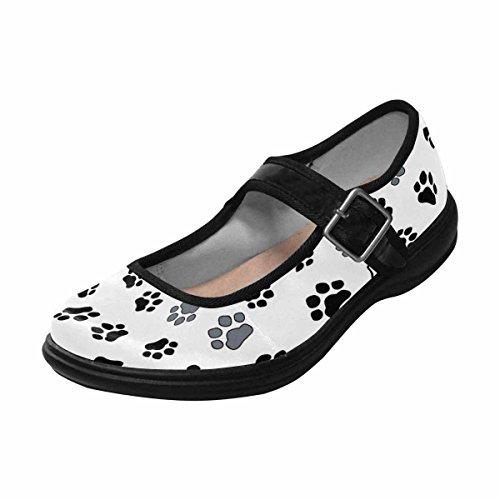 Interestprint Femmes Confort Mary Jane Appartements Casual Chaussures De Marche Multi 11