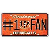 NFL Cincinnati Bengals License Plate